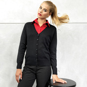 Women's button through knitted cardigan