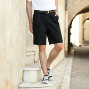 Teflon® coated chino shorts