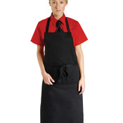 Economy Bib Apron With Pocket