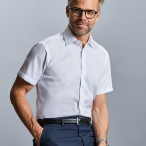 Men's Short Sleeve Tailored Ultimate Non-Iron Shirt Thumbnail