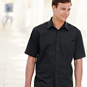 Poplin short sleeve shirt Thumbnail