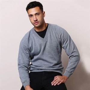 Coloursure™ v-neck sweatshirt Thumbnail