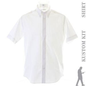 Tailored fit premium Oxford shirt short sleeve Thumbnail