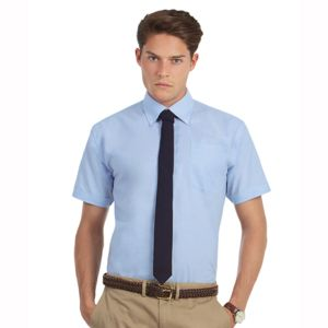 B&C Oxford short sleeve /men Thumbnail