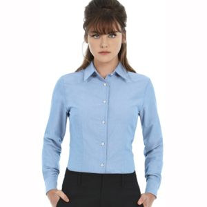 B&C Oxford long sleeve /women Thumbnail