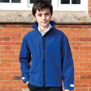 Junior classic softshell 3-layer jacket Thumbnail