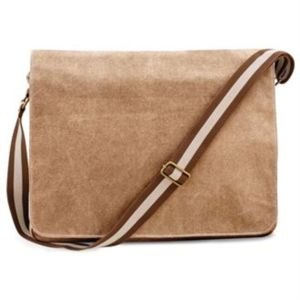 Vintage canvas despatch bag Thumbnail