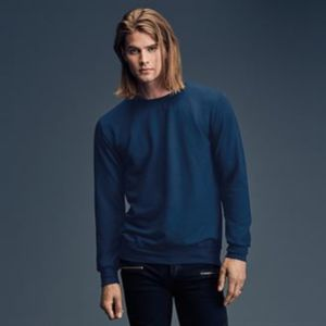 Anvil crew neck French terry sweatshirt Thumbnail