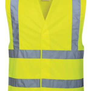 Hi-vis two-band-and-brace vest (C470) Thumbnail