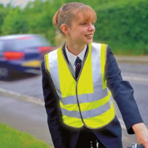 Junior safety high-viz vest Thumbnail