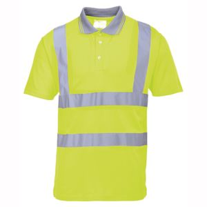 Hi-vis polo shirt (S477/RT22) Thumbnail