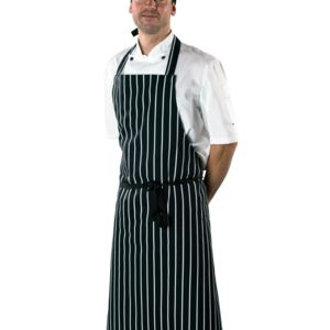 Cotton Striped Butchers Apron Thumbnail