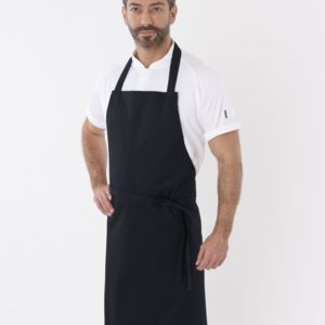 Polycotton Bib Apron Without Pocket Thumbnail