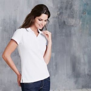 Women's short sleeve polo shirt Thumbnail