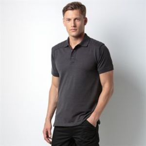 Shoulder patch polo shirt Superwash® 60°C Thumbnail