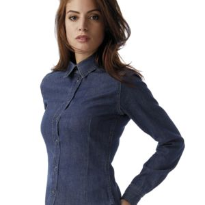 B&C DNM Vision Womens Denim Shirt Thumbnail