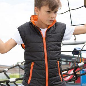 Result Core Childs Padded Bodywarmer Thumbnail