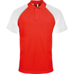Polo baseball contrast polo shirt Thumbnail