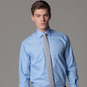 Tailored business shirt long-sleeved (tailored fit) Thumbnail