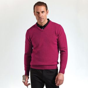 g.Lomond lambswool v-neck sweater (MKL5900VN-LOM) Thumbnail