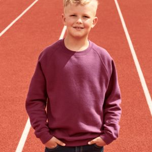 Childrens Raglan Sleeve Sweatshirt Thumbnail
