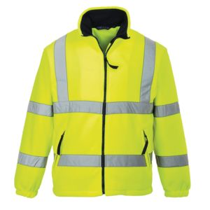 Hi-vis mesh-lined fleece (F300) Thumbnail