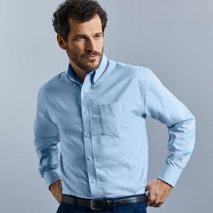 Men's Long Sleeve Easy Care Oxford Shirt Thumbnail
