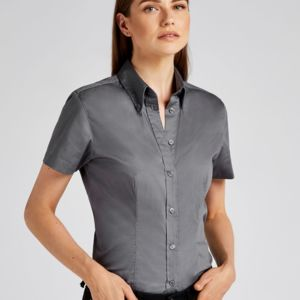 Ladies' Coporate Oxford Short Sleeve Shirt Thumbnail