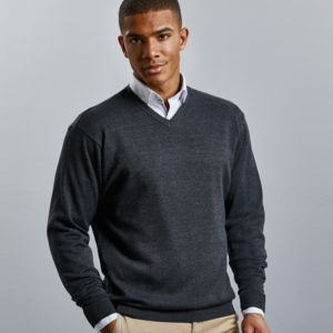 V-Neck Knitted Pullover Thumbnail